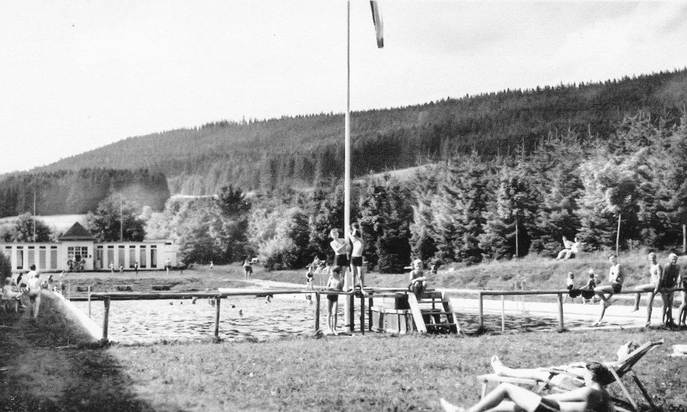 Freibad Kappel historisch